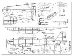 Fairey Battle 2 model airplane plan